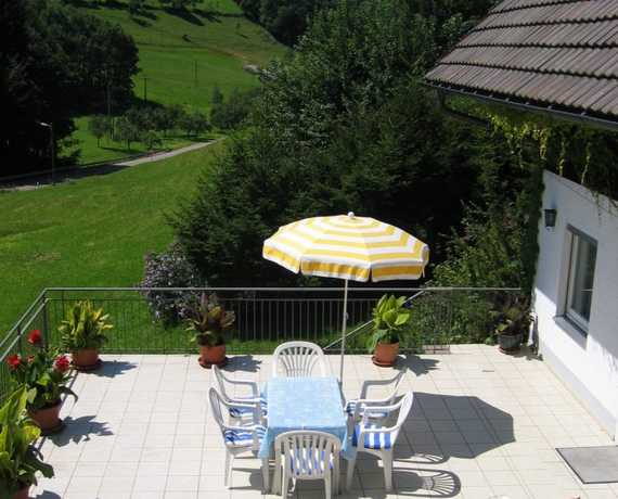 Terrasse FeWo Schauinsland Bad Peterstal-Griesbach - Bad Peterstal